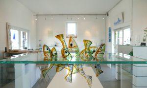 Antje-Otto-Glaskunst Atelier-Fische