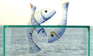 Antje-Otto-Glaskunst Glasobjekt-Fische
