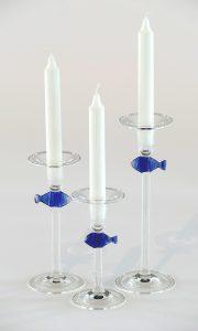 Antje-Otto-Glaskunst Kerzenleuchter