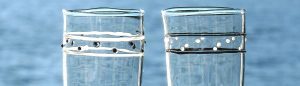 Trinkglaeser Gebrauchsglaeser Glaskunst Antje Otto Keitum Sylt