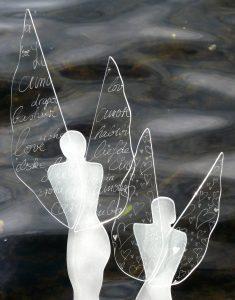 Glasengel Filigran Glaskunst Antje Otto Keitum Sylt