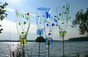 Glasmasken Fusing Glasmalerei Glaskunst Antje Otto Keitum Sylt