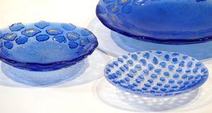 Antje-Otto-Glaskunst Keitum Sylt Glasschalen